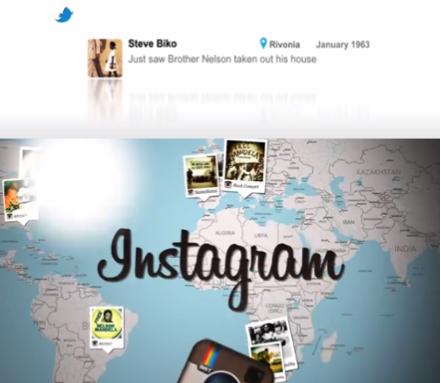 Nelson Mandela's Digital Timeline by Prezence Digital