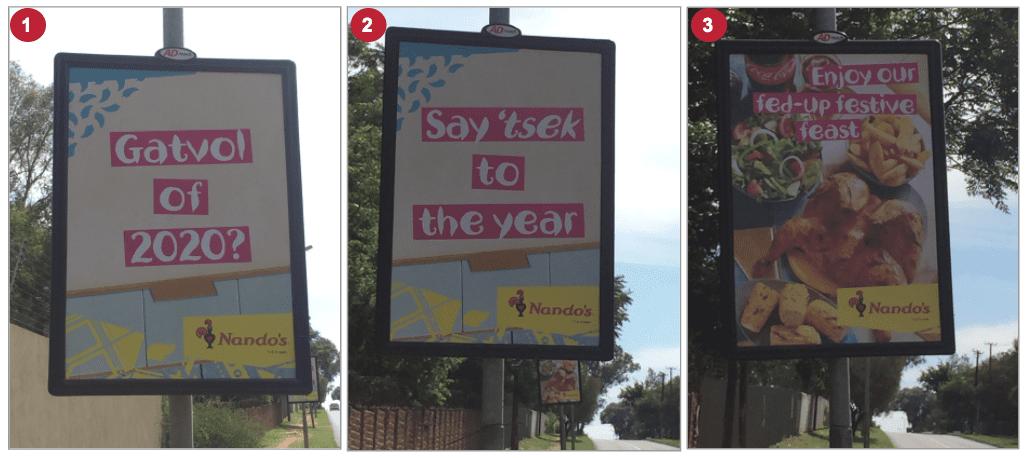 eNitiate | 36 Tweeting Tips | Nados Street Pole Ads | Nov 2020
